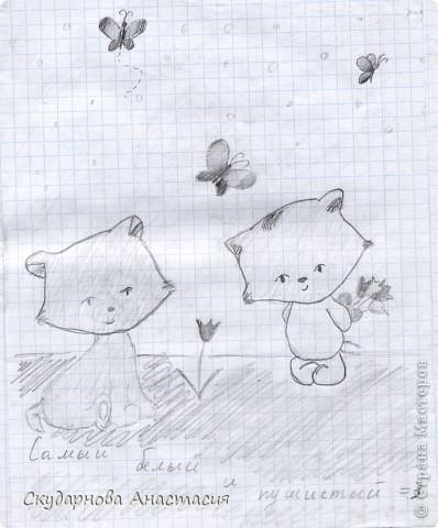 Все это я рисовала когда мне было 10 лет, так что не ругайте строго:) По большей части аниме)) фото 10
