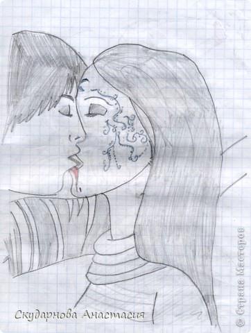 Все это я рисовала когда мне было 10 лет, так что не ругайте строго:) По большей части аниме)) фото 13