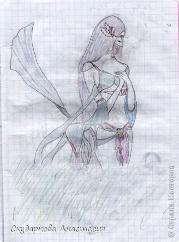 Все это я рисовала когда мне было 10 лет, так что не ругайте строго:) По большей части аниме)) фото 16