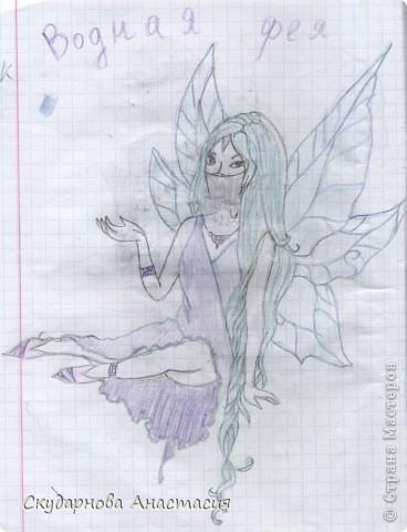 Все это я рисовала когда мне было 10 лет, так что не ругайте строго:) По большей части аниме)) фото 18