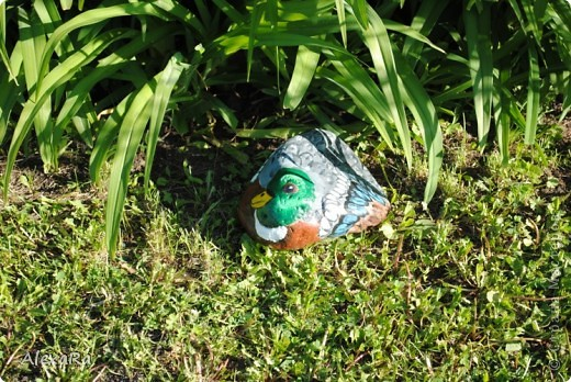 Вот такие новые камушки-зверушки украшают теперь наш сад... фото 3