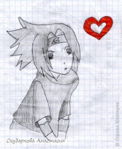 Все это я рисовала когда мне было 10 лет, так что не ругайте строго:) По большей части аниме)) фото 2