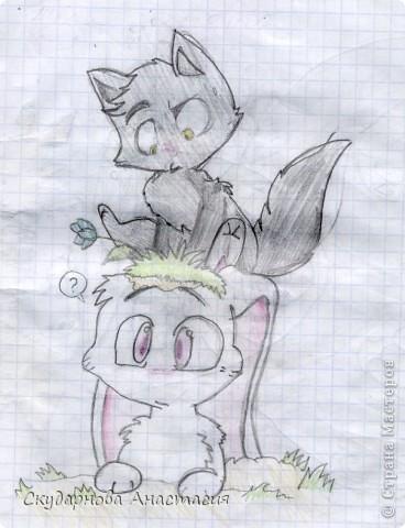 Все это я рисовала когда мне было 10 лет, так что не ругайте строго:) По большей части аниме)) фото 19