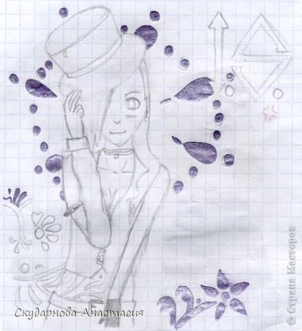 Все это я рисовала когда мне было 10 лет, так что не ругайте строго:) По большей части аниме)) фото 21