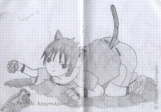 Все это я рисовала когда мне было 10 лет, так что не ругайте строго:) По большей части аниме)) фото 22