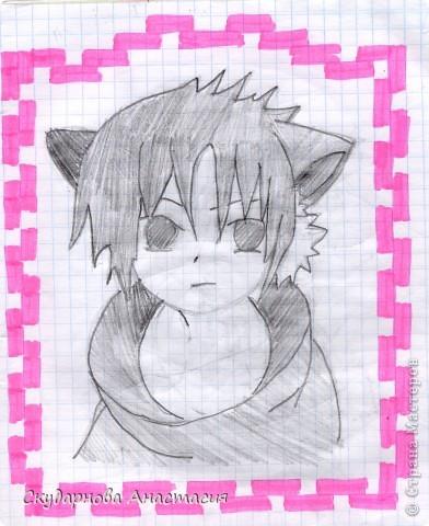 Все это я рисовала когда мне было 10 лет, так что не ругайте строго:) По большей части аниме)) фото 3