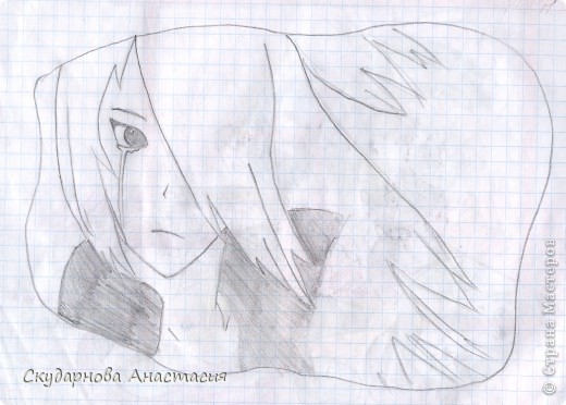 Все это я рисовала когда мне было 10 лет, так что не ругайте строго:) По большей части аниме)) фото 4