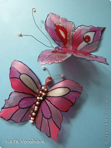Букет полевых цветов и бабочка фото 2