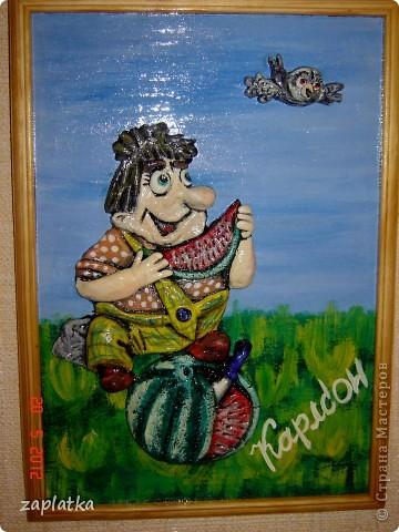 вот такой вот котик с рыбкой... идея из страны Мастеров.. фото 4