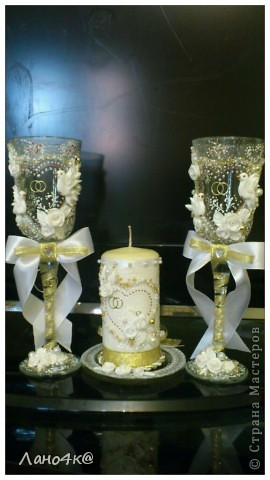 3 свадебных набора ( много фото) фото 1