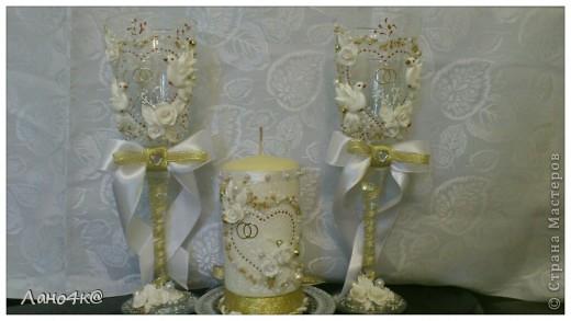 3 свадебных набора ( много фото) фото 7