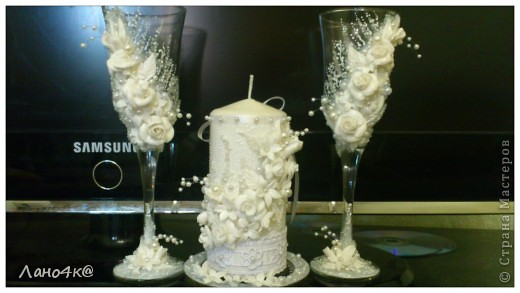 3 свадебных набора ( много фото) фото 13