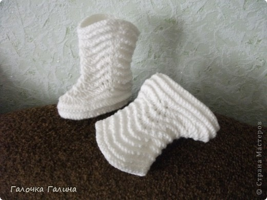 Пинетки-сапожки  фото 1