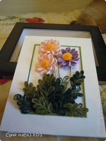 Новые цветочки с овальным сердечком фото 2