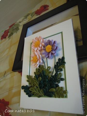 Новые цветочки с овальным сердечком фото 1