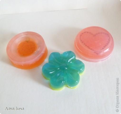 """Это мой второй опыт в мыловарении, но теперь уже из основы.  Мыло с люфой """"Грейпфрут"""" фото 2"""