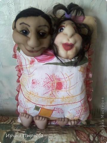 Это Дима с Наташей.Очень похожи на своих хозяев,повесили у себя над кроватью!!!! фото 1