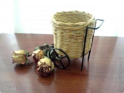 Плетенка на колесах фото 3