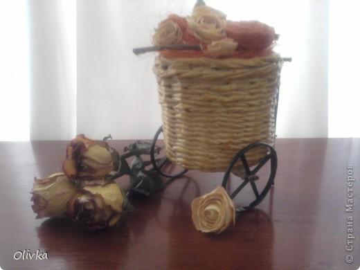 Плетенка на колесах фото 5