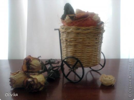 Плетенка на колесах фото 6