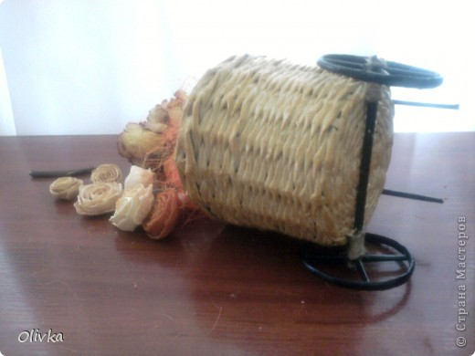 Плетенка на колесах фото 7