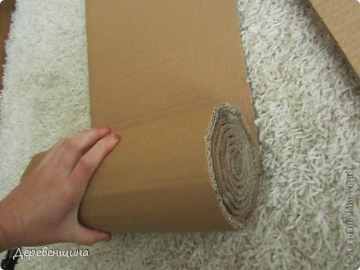 Мастер-класс Плетение ленивый табурет и грибная поляна  Трубочки бумажные фото 3