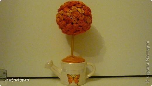 стояла у меня китайская вазочка и все я не знала как ее использовать и вот .что получилось. фото 5