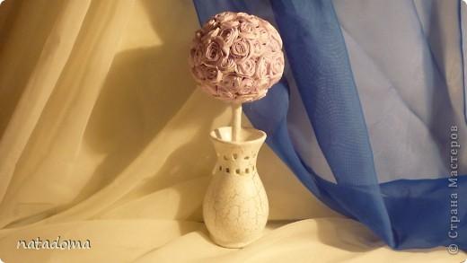 стояла у меня китайская вазочка и все я не знала как ее использовать и вот .что получилось. фото 1