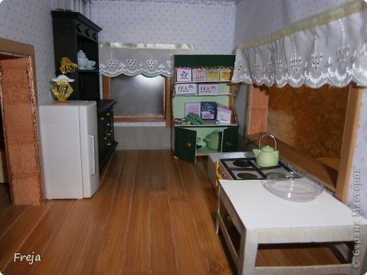 Ну вот, доделала один из долгостроев:) Не до конца, правда, но  все же ... Наша кухня:) фото 6