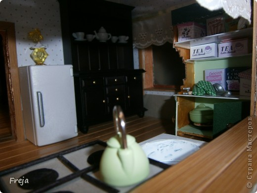 Ну вот, доделала один из долгостроев:) Не до конца, правда, но  все же ... Наша кухня:) фото 1