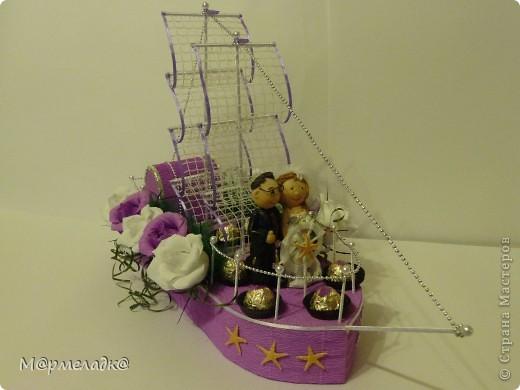 Здравствуйте. Вот и мой первый кораблик. Огромное спасибо за идею Марине Егоровне http://stranamasterov.ru/node/362726 фото 2