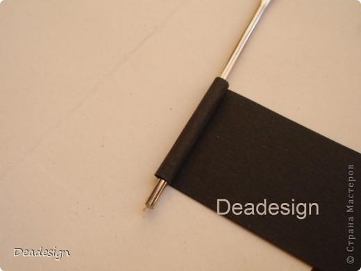 предмет для сравнения размера - конфетка материал - картон, черный картон, бумага, проволока, клей.  фото 6