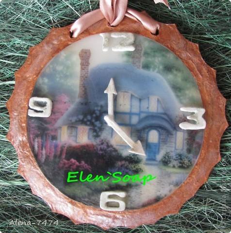 Мыло-часы с водорастворимой бумагой, аромат клубника со сливками. фото 2
