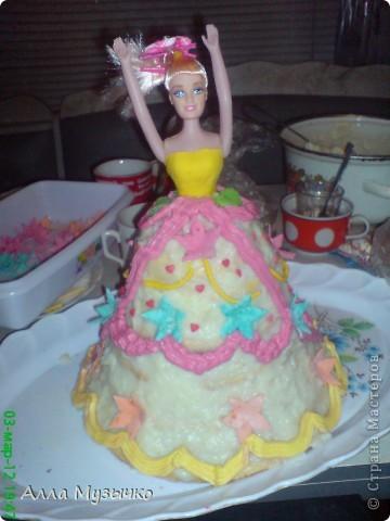 """Торт """"КУКЛА"""" фото 12"""