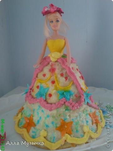 """Торт """"КУКЛА"""" фото 13"""