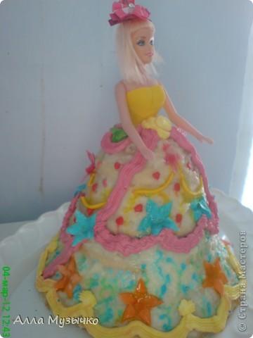 """Торт """"КУКЛА"""" фото 14"""