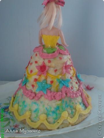 """Торт """"КУКЛА"""" фото 15"""