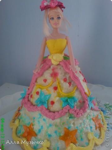 """Торт """"КУКЛА"""" фото 1"""