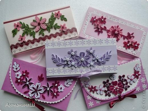 Шоколадницы и конверты. фото 1