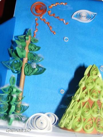 Поделка делалась детям в школу на новогодний конкурс (2012г.). Эта работа заняла первое место, о чем имеется грамота.  фото 4