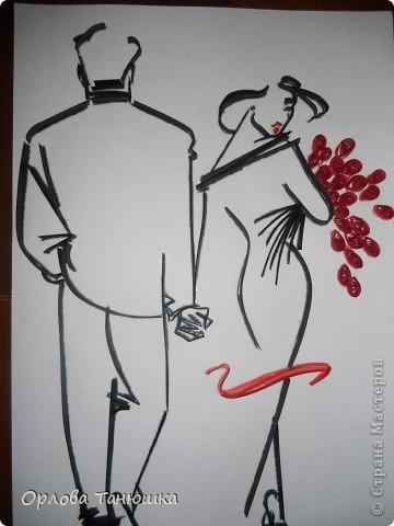 После того, как Анна Сожан сделала работу по рисунку Т. Вилсона, я просто не смогла устоять и сделала повторюшку. Правда не хотела выставлять в СМ, ведь уже появились повторные работы, да и моя далека от совершенства, но всё таки показываю. фото 1