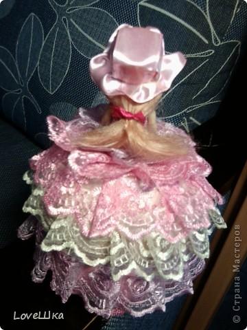 Моя первая, и надеюсь не последняя, куколка - шкатулка) фото 2