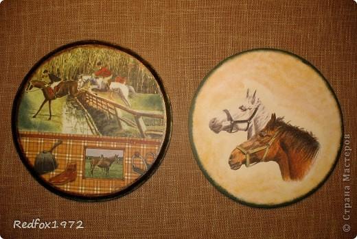 """Когда делала панно для подруги http://stranamasterov.ru/node/371841 уже знала, что сделаю для своей дочери. Она """"болеет"""" лошадьми, и идея пришла сама собой))) фото 3"""