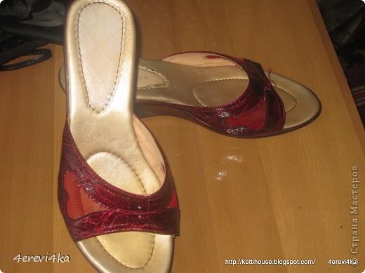 """""""Новая"""" жизнь старым вещам. Декор обуви№2 фото 7"""