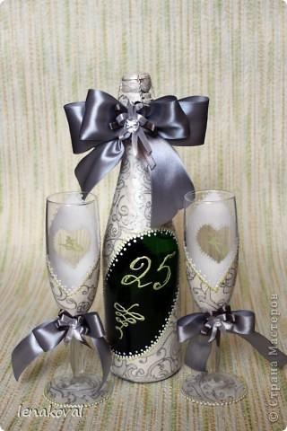 Очень скоропалительный набор на заказ к серебряной свадьбе фото 1