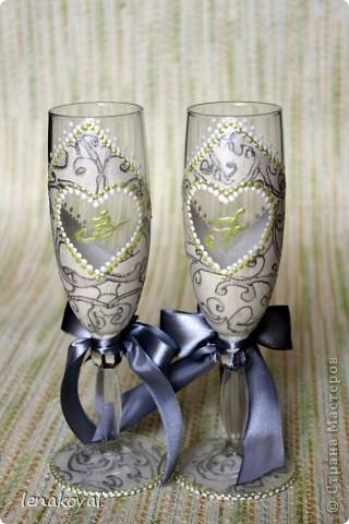 Очень скоропалительный набор на заказ к серебряной свадьбе фото 4
