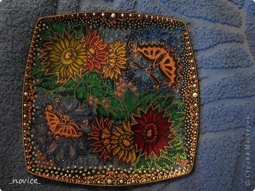 декоративная тарелочка в подарок фото 4