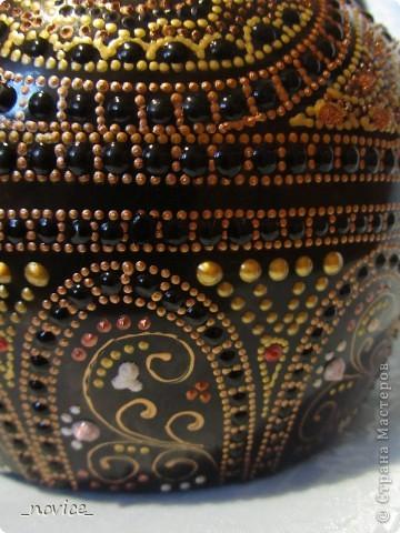 Декор предметов Мастер-класс Роспись МК  точечная роспись для не очень ленивых Краска фото 16