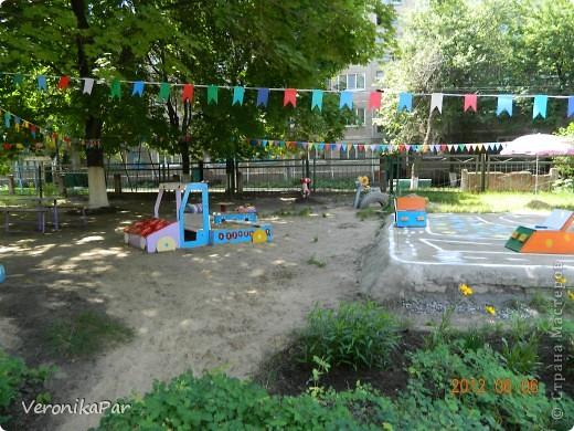 Флажки в детский сад на участок детского сада