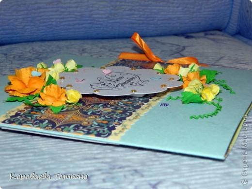 Вдохновительницей на эти открытки была АЛЬБИНА УФА. http://stranamasterov.ru/node/368663 фото 10